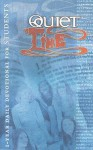 Quiet Time for Students: 1-Year Daily Devotional for Students - Word of Life Fellowship Inc.