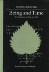Being and Time (Contemporary Continental Philosophy) - Martin Heidegger, Joan Stambaugh