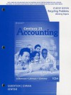 Recycling Problems Working Papers, Student Edition for Gilbertson/Lehman's Century 21 Accounting: Multicolumn Journal, 10th - Claudia B. Gilbertson, Mark W. Lehman, Debra H. Gentene