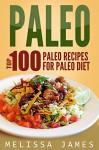 Paleo: Top 100 Paleo Recipes For Paleo Diet - Melissa James