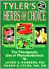 Tyler's Herbs of Choice: The Therapeutic Use of Phytomedicinals - James E. Robbers, Varro Tyler, Robbers, James Robbers