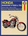 Honda Shadow VT600 & 750 1988 thru 2003 (Haynes Manuals) - Mike Stubblefield
