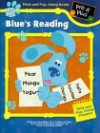 Blue's Reading: Pre-K Plus (A Blue's Clues Think and Play Along Sticker Book) - Alice Wilder, Deborah Reber