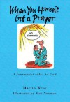 When You Haven't Got a Prayer: A Journalist Talks to God - Martin Wroe, Nick Newman