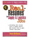 Real-Resumes for Supply & Logistics Jobs - Anne McKinney