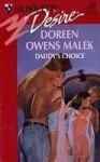 Daddy's Choice (Silhouette Desire, #983) - Doreen Owens Malek