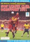Non League Club Directory 2001 - Tony Williams