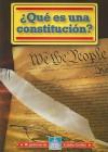 QUE ES UNA CONSTITUCION? /WHAT IS A CONSTITUTION? (Mi Gobierno De Estados Unidos) (Spanish Edition) - William David Thomas
