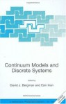 Continuum Models and Discrete Systems (Nato Science Series II: (closed)) - David J. Bergman, Esin Inan