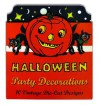 Vintage Halloween Cardboard Cutouts: Die Cut Party Decorations - Laughing Elephant Publishing