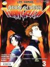 """Neon Genesis Evangelion, 3/01: Akwarium / Czwarty """"zakwalifikowany"""" - Yoshiyuki Sadamoto, Rafał """"Kabura"""" Rzepka"""