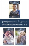 Harlequin Medical Romance October 2015 - Box Set 2 of 2: Falling for Her Reluctant SheikhFather for Her Newborn BabySafe in the Surgeon's Arms - Amalie Berlin, Lynne Marshall, Molly Evans