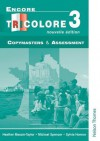 Encore Tricolore - 3 Nouvelle Edition Copymasters and Assessment - Sylvia Honnor, Heather Mascie-Taylor, Michael Spencer