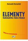 Elementy prawoznawstwa i prawa cywilnego - ebook - Romuald Romański