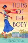 Heirs of the Body (Daisy Dalrymple, #21) - Carola Dunn