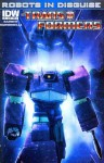 Transformers Robots In Disguise #6 Variant Shockwave Cover B - Barber, Ramondelli