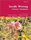 Inside Writing: A Writer's Workbook, Form B - William Salomone, Stephen McDonald