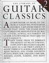 The Library of Guitar Classics 2 - Jerry Willard, Hal Leonard Publishing Corporation
