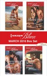 Harlequin Blaze March 2016 Box Set: Her Sexy Marine ValentineCompromising PositionsSweet SeductionCowboy Strong (Uniformly Hot!) - Candace Havens, Kate Hoffmann, Daire St. Denis, Kelli Ireland