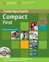 Compact First Student's Book Pack (Student's Book with Answers and Class Audio CDs (2)) [With CDROM] - Peter May
