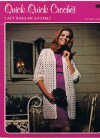 Casual 3/4 Coat (Quick Quick Crochet, Pattern CR 600) - Lisa Holmes