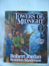 Towers of Midnight by Robert Jordan & Brandon Sanderson Unabridged CD Audiobook (The Wheel of Time, Book 13) - Robert Jordan / Brandon Sanderson, Kate Reading and Michael Kramer