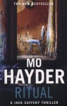 Ritual: Jack Caffery series 3 by Mo Hayder (2008-11-20) - Mo Hayder;