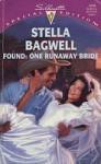 Found: One Runaway Bride - Stella Bagwell