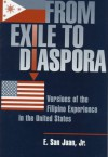 From Exile To Diaspora: Versions Of The Filipino Experience In The United States - E. San Juan Jr.