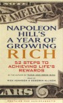 Napoleon Hill's A Year of Growing Rich: 52 Steps to Achieving Life's Rewards - Napoleon Hill, Rick Adamson, Deborah Allison