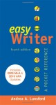 EasyWriter with 2009 MLA and 2010 APA Updates & Team Writing - Andrea A. Lunsford, Joanna Wolfe