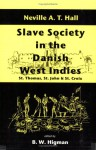 Slave Society in the Danish West Indies: St. Thomas, St. John and St. Croix - G. Boodraj, B.W. Higman