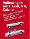 Volkswagen Jetta, Golf, GTI: 1993, 1994, 1995, 1996, 1997, 1998, 1999 Cabrio: 1995, 1996, 1997, 1998, 1999, 2000, 2001, 2002 (A3 Platform) Service Manual - Bentley Publishers