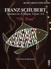 Music Minus One Piano: Schubert Piano Quintet In A Major, Op. 114, D667 'Forellen Quintett' Or 'Trout Quintet' (Minus Piano) (Book & Cd) - Franz Schubert