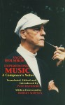 Experiencing Music: A Composer's Notes - Vagn Holmboe, Paul Rapoport, Robert Simpson