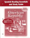 The American Republic to 1877 Spanish Reading Essentials and Study Guide Student Workbook - Glencoe/McGraw-Hill