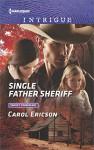 Single Father Sheriff (Target: Timberline) - Carol Ericson