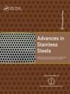 Advances in Stainless Steels - Baldev Raj, T. Jayakumar, P. Shankar, K. Bhanu Kankara Rao, P. V. Sivaprasad, Saroja Saibaba