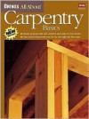 Ortho's All about Carpentry Basics - Meredith Books