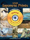 120 Japanese Prints CD-ROM and Book - Hokusai, Hiroshige and Others, Hokusai, Hiroshige and Others