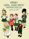 Irish Girl and Boy Paper Dolls - Kathy Allert