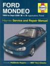 Ford Mondeo Service And Repair Manual (Haynes Service & Repair Manuals) - Jeremy Churchill, A.K. Legg, Robert Jex