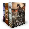 Dragonlands, Books 1 - 3: Hidden, Hunted, and Retribution - Megg Jensen