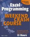 Excel Programming Weekend Crash Course - Peter G. Aitken