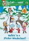 Walkin' in a Sticker Wonderland! (Dr. Seuss/Cat in the Hat) - Golden Books, Christopher Moroney