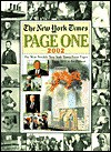 The New York Times Page One 1851-2002: The Most Notable New York Times Front Pages from 1851 to the Present - Galahad Books