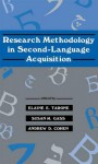 Research Methodology in Second-Language Acquisition - Elaine E Tarone, Susan M Gass, Andrew D Cohen Prof