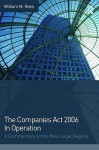 A Practical Guide to The Companies Act 2006 - Saleem Sheikh