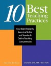 Ten Best Teaching Practices: How Brain Research, Learning Styles, and Standards Define Teaching Competencies - Donna E. Walker Tileston