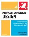 Microsoft Expression Design for Windows: Visual QuickStart Guide - Blatnet, Jeff Carlson, Blatnet